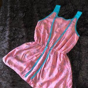 Little Mermaid Romper w/ Skirt Overlay, Size 9/10